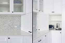 Hide your everyday appliances in an appliance cupboard
